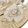 Authentic Second Hand Roberto Cavalli Flower Thong Sandals (PSS-200-01134) - Thumbnail 6