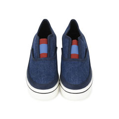 Binx Denim Platform Loafers
