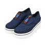 Authentic Second Hand Stella McCartney Binx Denim Platform Loafers (PSS-200-01135) - Thumbnail 3