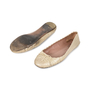 Authentic Second Hand Azzedine Alaïa Crocodile Embossed Ballet Flats (PSS-148-00036) - Thumbnail 2