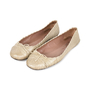 Authentic Second Hand Azzedine Alaïa Crocodile Embossed Ballet Flats (PSS-148-00036) - Thumbnail 4