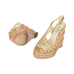 Parloma barcelo knotted cork wedges 2?1532596104
