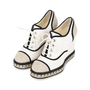 Authentic Second Hand Chanel Lace-Up Espadrille Wedges (PSS-200-01138) - Thumbnail 2