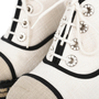Authentic Second Hand Chanel Lace-Up Espadrille Wedges (PSS-200-01138) - Thumbnail 6