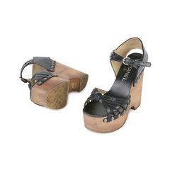 Chanel twist front platform clogs 2?1532922025