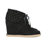 Authentic Second Hand Louis Vuitton Monogram Wedge Booties (PSS-200-01156) - Thumbnail 4