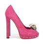 Authentic Second Hand Alexander McQueen Skull Peep-Toe Pumps (PSS-200-01141) - Thumbnail 1