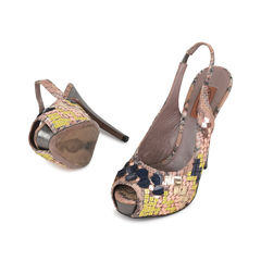 Missoni sequinned sling back pumps 2?1533033059