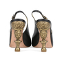 Authentic Second Hand Chanel Baroque Sling Back Pumps (PSS-200-01162) - Thumbnail 3