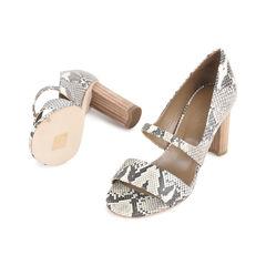 Hermes snakeskin sandals 2?1533100292