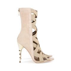 Balmain sand tali bamboo heel sandals 2?1533100446