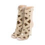 Authentic Second Hand Balmain Sand Tali Bamboo-Heel Sandals (PSS-200-01140) - Thumbnail 3