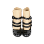 Authentic Pre Owned Chanel Triple Strap Quilted Ankle Cuff Pumps (PSS-200-01139) - Thumbnail 0