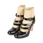 Authentic Pre Owned Chanel Triple Strap Quilted Ankle Cuff Pumps (PSS-200-01139) - Thumbnail 2