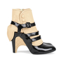 Authentic Pre Owned Chanel Triple Strap Quilted Ankle Cuff Pumps (PSS-200-01139) - Thumbnail 3