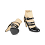 Authentic Pre Owned Chanel Triple Strap Quilted Ankle Cuff Pumps (PSS-200-01139) - Thumbnail 5