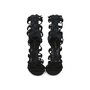 Authentic Second Hand Balmain Cutout Suede Sandals (PSS-200-01155) - Thumbnail 0