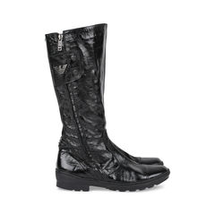 Armani junior high leather boots 2?1533100546