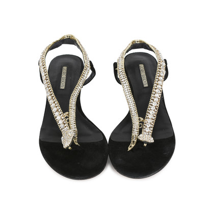 Authentic Second Hand Luciano Barachini Jeweled Snake Sandals (PSS-200-01148)