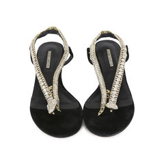 Jeweled Snake Sandals