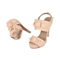 Hermes covered stud sandals 2?1533100605