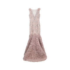 Unbranded intricate mesh embroidered gown 1?1533100638