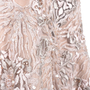 Authentic Second Hand (unbranded) Intricate Mesh Embroidered Gown (PSS-515-00025) - Thumbnail 2