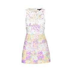 Geometric Printed Dress