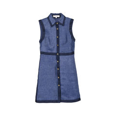 Buttondown Linen Dress