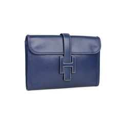 Hermes box jige clutch blue 2?1533195427