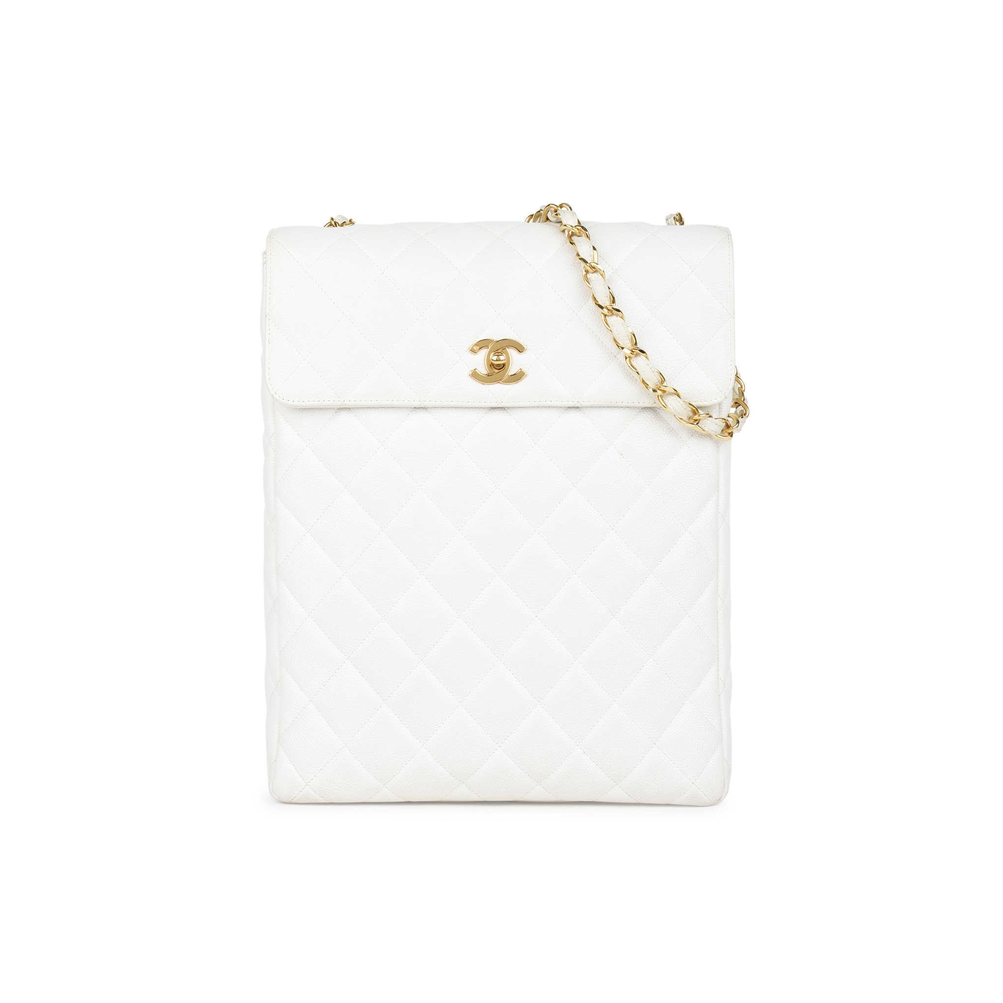750970a42ead75 Authentic Vintage Chanel Large Caviar Quilt Flap Bag (PSS-441-00031) | THE  FIFTH COLLECTION