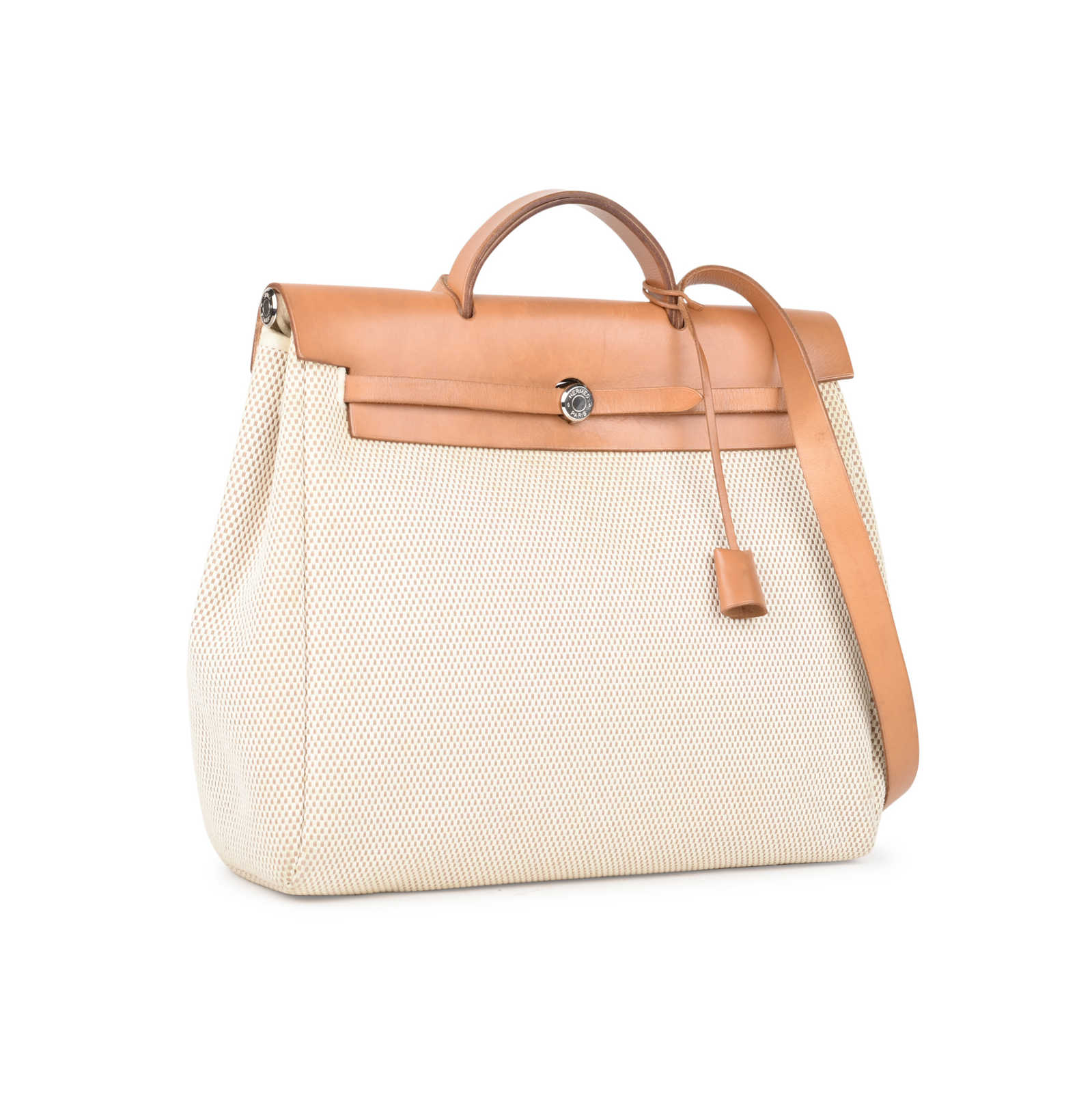 b60c22afa9a6 ... Authentic Second Hand Hermès Herbag MM 2 in 1 (PSS-441-00035) ...