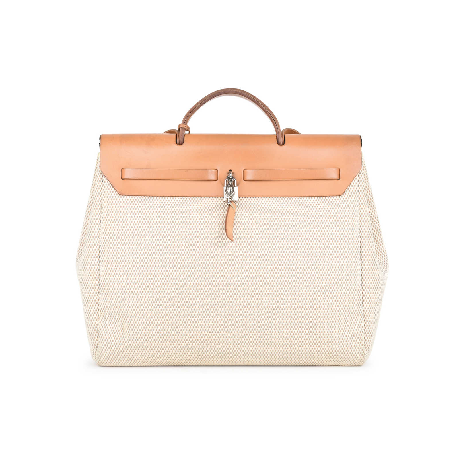 98ff0bd00bc2 ... Authentic Second Hand Hermès Herbag MM 2 in 1 (PSS-441-00035) ...