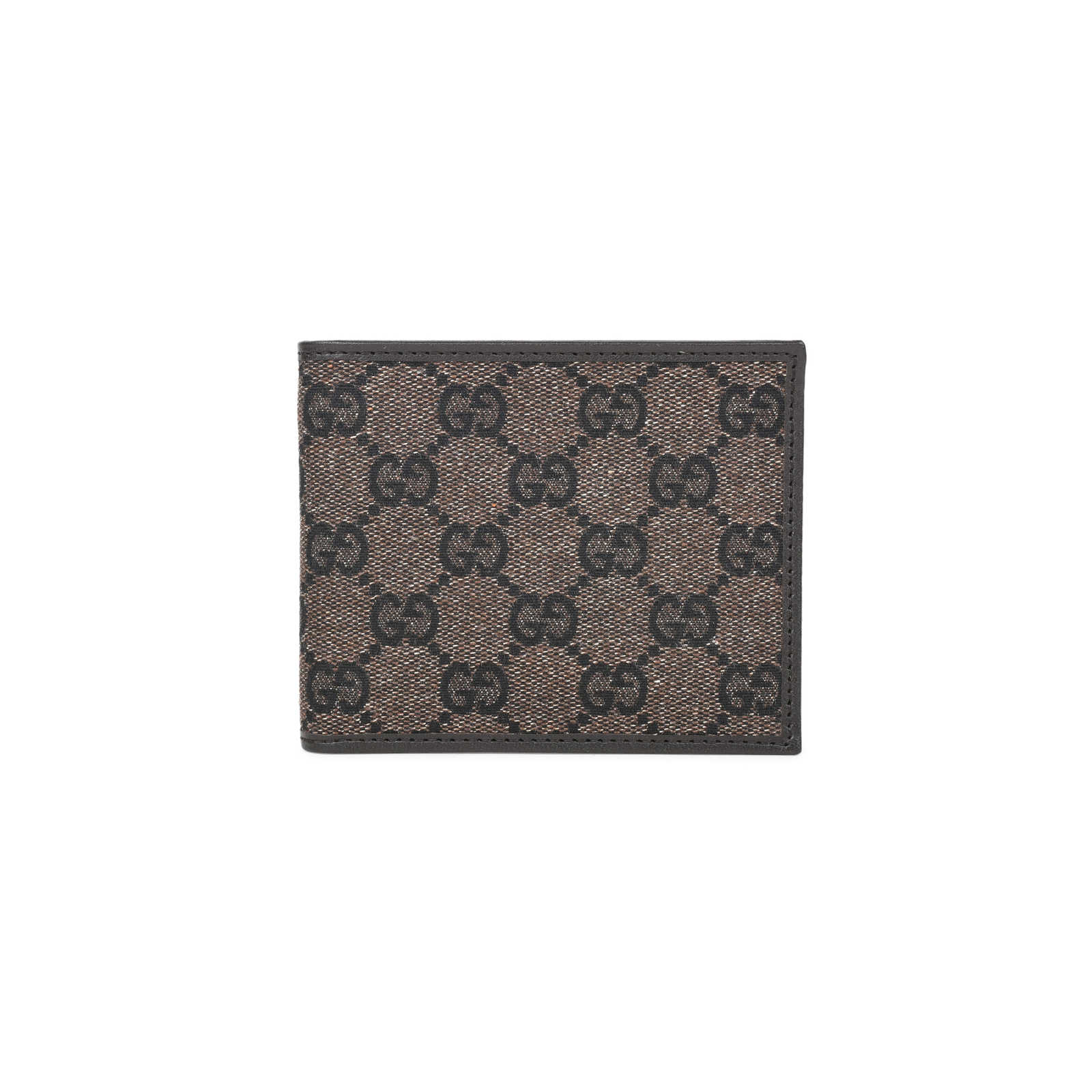 3e966df70a02a6 Tap to expand · Authentic Second Hand Gucci Monogrammed Denim Canvas Wallet  (PSS-394-00024) ...