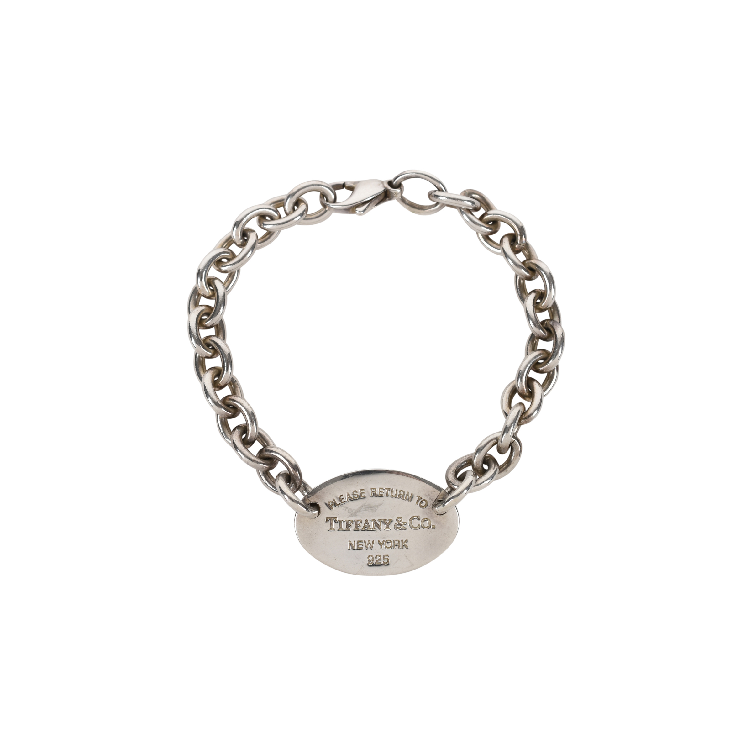 0e8302b74 Authentic Second Hand Tiffany & Co Oval Tag Bracelet (PSS-394-00029) - THE  FIFTH COLLECTION