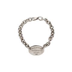 Oval Tag Bracelet
