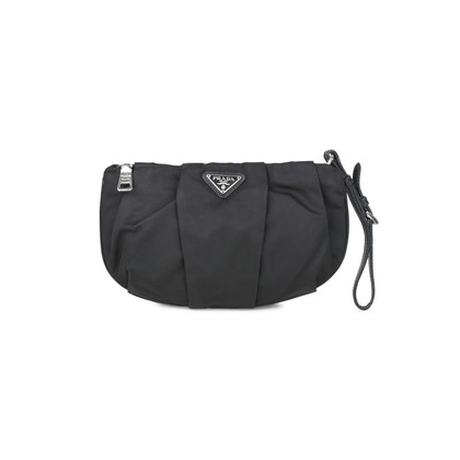Authentic Pre Owned Prada Nylon Pouch (PSS-394-00030)