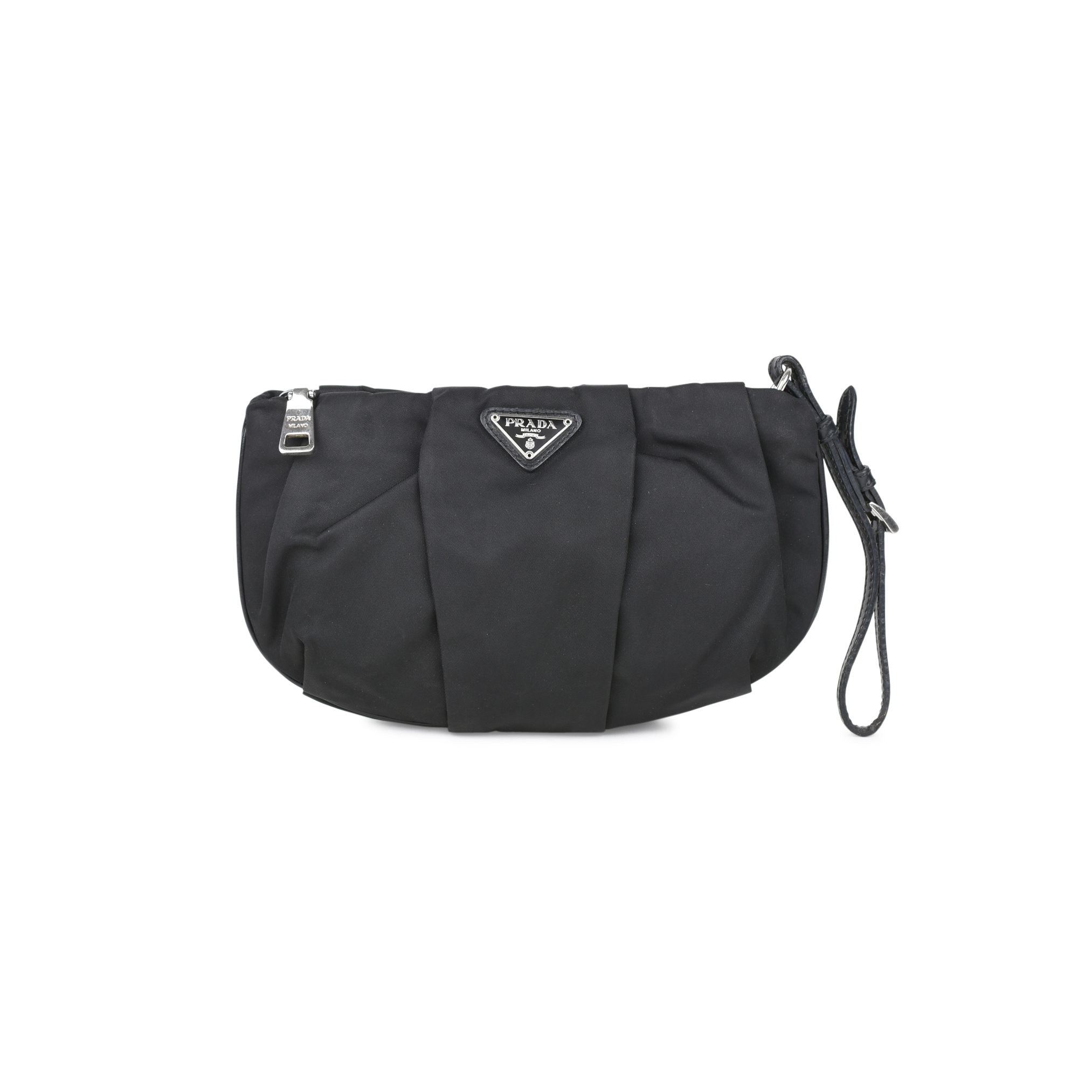6b8f23dde0b0 Authentic Second Hand Prada Nylon Pouch (PSS-394-00030) | THE FIFTH  COLLECTION
