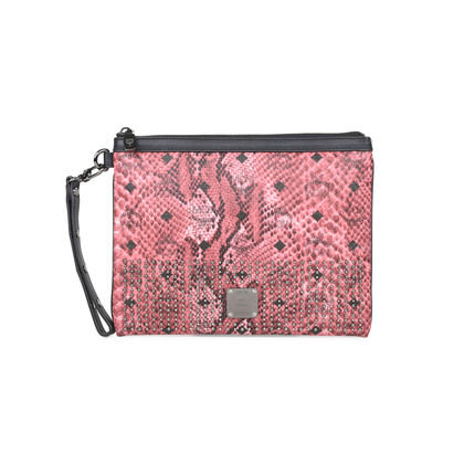 Authentic Second Hand MCM Wristlet Zip Pouch (PSS-394-00033)