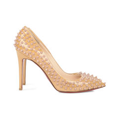 Christian louboutin pigalle spike pumps neutral 2?1533612565