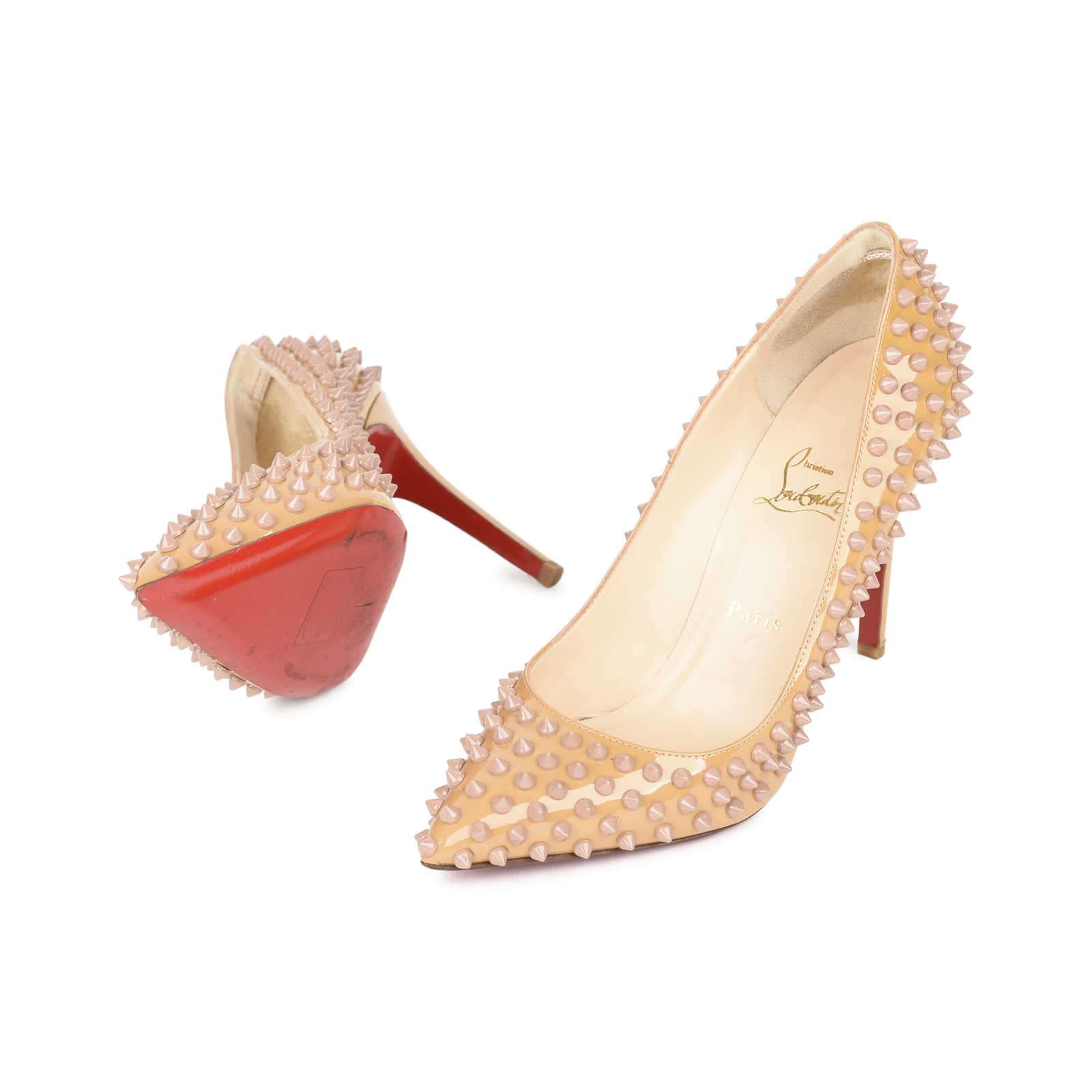 ... Authentic Pre Owned Christian Louboutin Pigalle Spike Pumps (PSS-532- 00002) ... a375dd0b3d