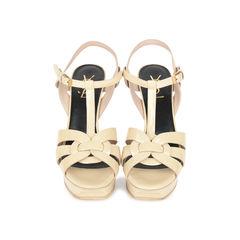 Nude Patent Tribute Sandals