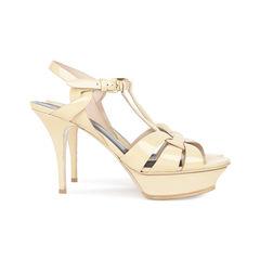 Saint laurent nude patent tribute sandals 2?1533612836
