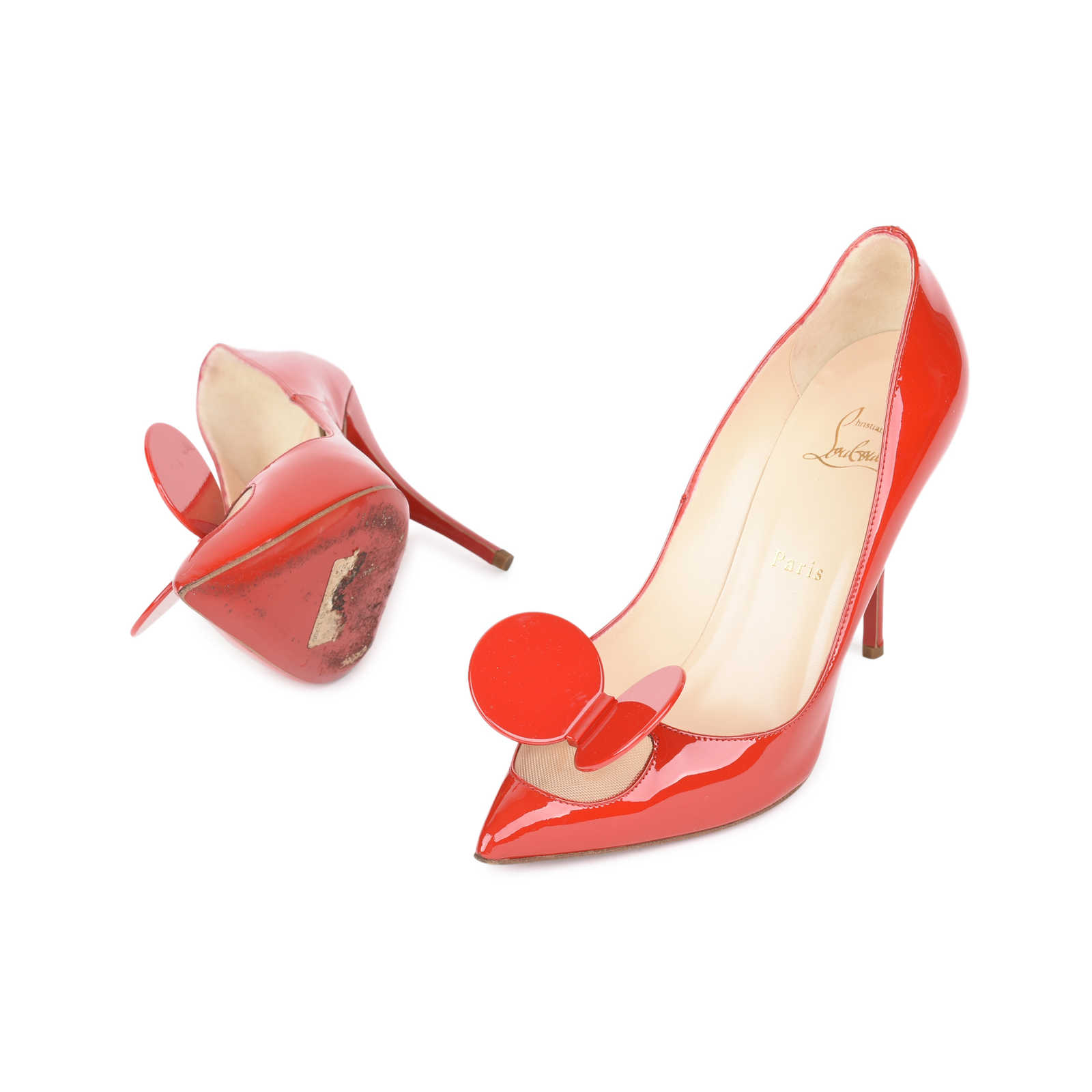 99af592d9dd0 ... Authentic Second Hand Christian Louboutin Madame Mouse Pumps  (PSS-532-00005) ...