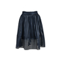 Authentic Second Hand Maje Mesh Striped Skirt (PSS-420-00057) - Thumbnail 0