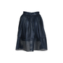 Authentic Second Hand Maje Mesh Striped Skirt (PSS-420-00057) - Thumbnail 1