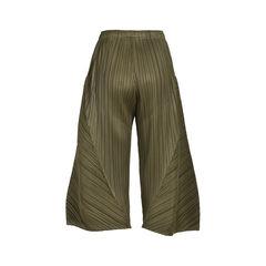 Pleats please wide legged crop pants 2?1533618558