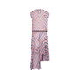 Authentic Second Hand Preen by Thornton Bregazzi Airmail Georgette Midi Dress (PSS-539-00010) - Thumbnail 1