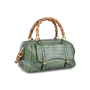 Authentic Pre Owned Gucci Crocodile Bamboo Bag (PSS-420-00065) - Thumbnail 1
