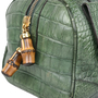 Authentic Pre Owned Gucci Crocodile Bamboo Bag (PSS-420-00065) - Thumbnail 4